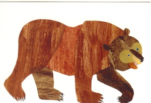 Thank you, Eric Carle & Bill Martin, Jr.